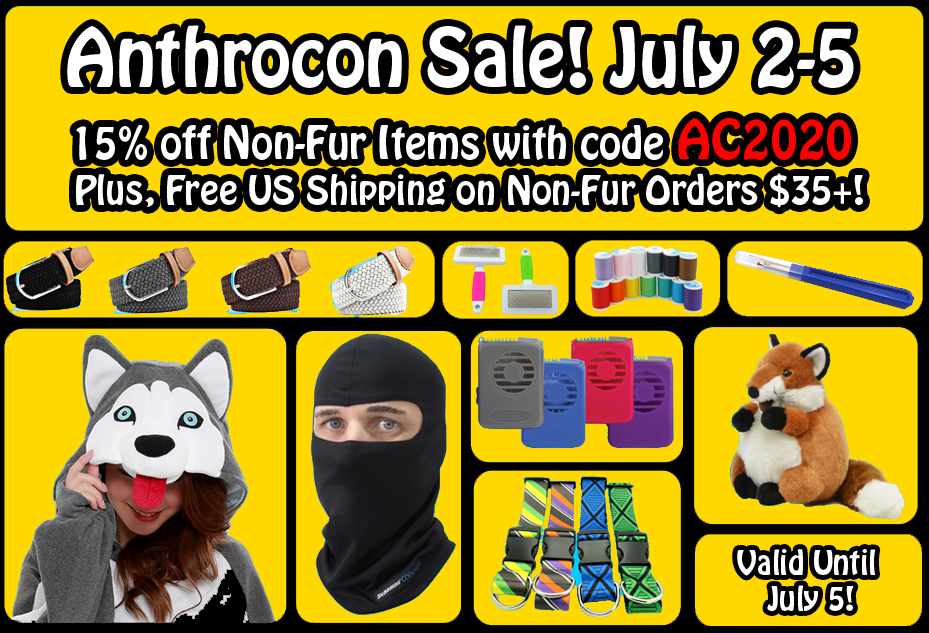 Anthrocon Sale!