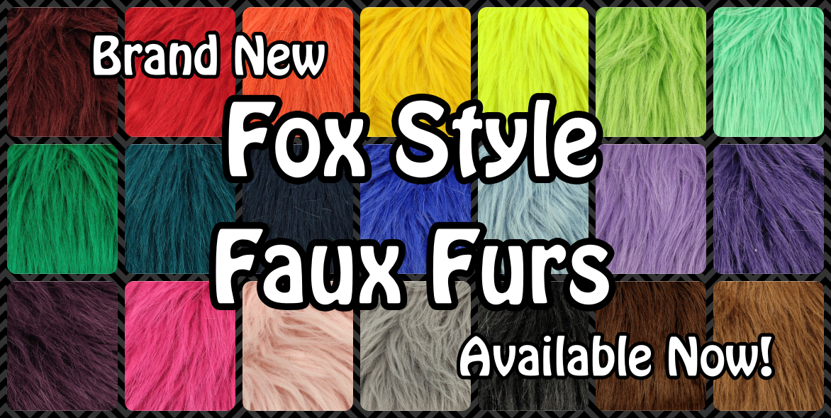 New Style Just In - Fox Faux Furs!