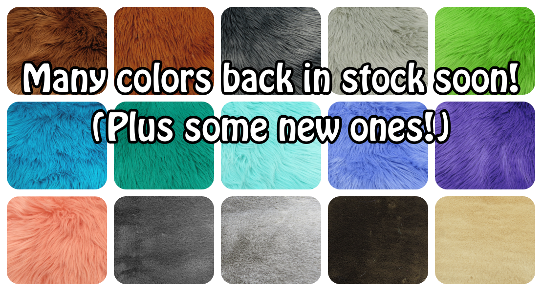 Old and new colors on the way - in stock August 18 at 8PM EST!